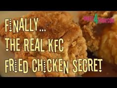 An Insider just Leaked KFCs Number 1 Secret To Their Friend Chicken Recipe. See It before It's Deleted | Chaosmos News