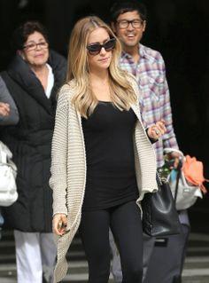 Pregnant Kristin Cavallari…love the classy and trendy look