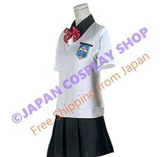 JAPAN COSPLAY Free! Go Matsuoka Iwatobi School Girl's Summer Uniform Mens