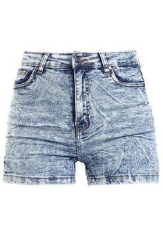 Ladies High Waist Skinny Shorts - Hot Pants van Urban Classics