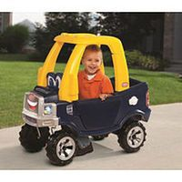 Little Tikes Cozy Truck. The back hatch fold down.
