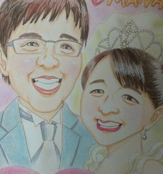 2013/2/10 Happy wedding!