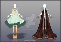 [Close] Design by Lonary on DeviantArt Dress Drawing, Drawing Clothes, Anime Outfits, Cool Outfits, Angel Y Diablo, Unique Costumes, Crazy Costumes, Anime Dress, Fashion Art