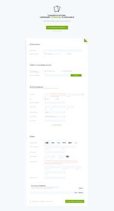 png by ⚡ Michał Ptaszyński ⚡ Form Design Web, Login Page Design, Dashboard Design, Ui Forms, Form Builder, Digital Web, Mobile Ui Design, Ui Inspiration, Interface Design