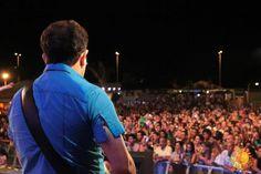 show da Calypso no Festival Latino Americando (é Americando mesmo) de Milão