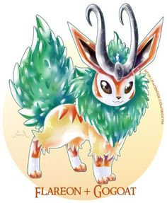 Artist Creates Wild Pokemon Fusions