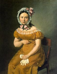 Portrait of Catherine (the artist's wife) by Jensen, ca. 1815