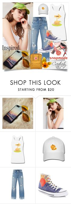 """Snapmade 6/2"" by creativity30 ❤ liked on Polyvore featuring Urban Outfitters, 3x1, Converse and Fjällräven"