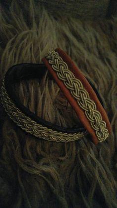 Tinntråd armbånd, lappish saami inspired bracelet
