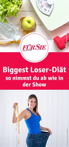 The Biggest Loser Diät - Remedios Klein The Biggest Loser, Biggest Loser Workout, Biggest Loser Diet Plan, Fitness Workouts, Losing Weight Tips, Lose Weight, Biggest Looser, Eco Slim, Diet And Nutrition