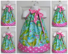Pillowcase dress! Simple and cute!