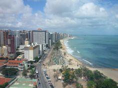 Vista de Fortaleza do Seara Hotel (Fortaleza - Ceará)