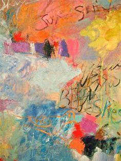 BLUE SKIES, artist Sandy Welch