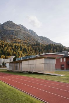 HTWZ by Krähenbühl Architekten (913AR) - Atlas of Places St Moritz, Studio, Location, Competition, Construction, Training, Architecture, Gallery, Building
