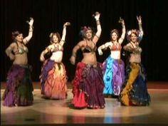 Tribal Style Belly Dance - WildCard BellyDance at Carnival of Stars