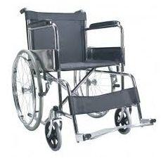 Basic wheel chair. www.wheelchairwala.in