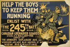 Examples of Propaganda from WW1 | Canadian WW1 Propaganda Posters