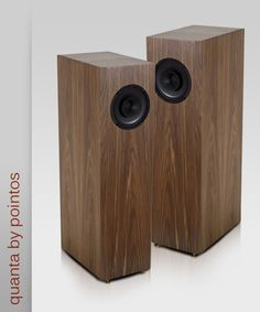 Pointos Quanta - Great single-driver, full-range speaker, built locally in Berlin, Germany