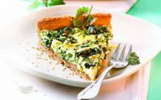 Cea mai bună tartă cu urzici şi brânză #tart Quiche, Bakery, Pizza, Sweets, Breakfast, Desserts, Recipes, Drink, Style