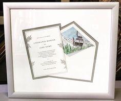 👰🏻Custom framed wedd