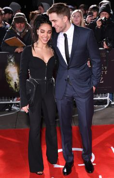 """Robert Pattinson and FKA Twigs Crushed It at """"The Lost City of Z"""" London Premiere   Tom + Lorenzo"""