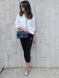 track pants, look do dia, moda, gabi may, fashion, ootd, sporty chic #gabimay #lookdodia #ootd