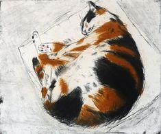 Elizabeth Blackadder (Escocia, 1931). Coco Sleeping.