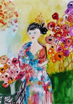 Art by Autumn Rose, Geisha