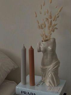 Aesthetic Room Decor, Beige Aesthetic, Room Ideas Bedroom, Bedroom Decor, Decoration, Room Inspiration, Candles, Instagram, Home Decor