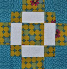 Day 14: Antique Tile Quilt Block