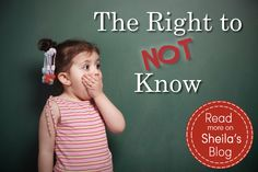 Childhood Innocence: Kids have the right not to know some things