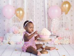 cake smash girl cake smash vintage cake smash pink and mint cake
