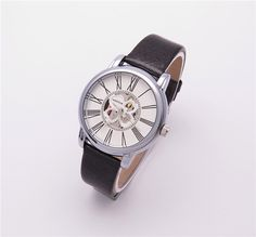 black leather band wrist watch for women WESTCHI BRAND DESGN