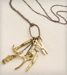 The Tools Necklace | Women's Jewelry | Sora Designs