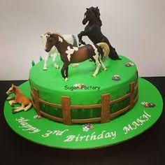 Resultado de imagen para horse cake for boy Horse Theme Birthday Party, Horse Party, My Birthday Cake, Baby Boy Birthday, Boy Birthday Parties, Sweet Cakes, Cute Cakes, Fondant Cakes, Cupcake Cakes