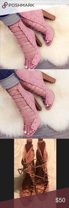 Secret Rendezvous from Lolashoetique Pink Secret Rendezvous from Lolashoetique Liliana Shoes