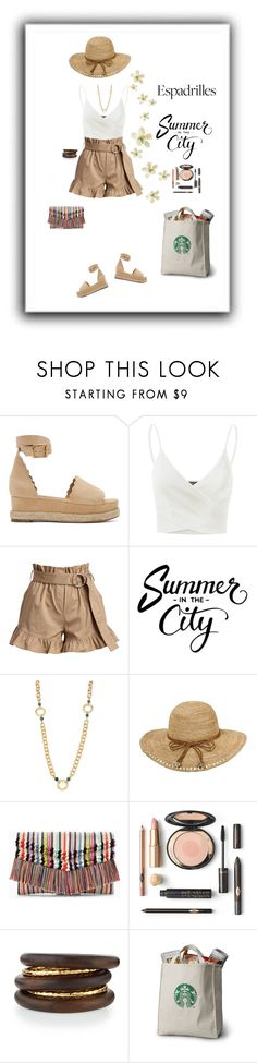 """""""Staying Cool Today"""" by sherry7411 on Polyvore featuring Chloé, Doublju, Cinq à Sept, Stephanie Kantis, Callanan Millinery, Stella & Dot, NEST Jewelry, espadrilles and polyvorecontest"""