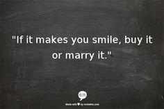 Good philosophy !