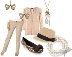 Fashion inspired by The Great Gatsby: Outfit 1