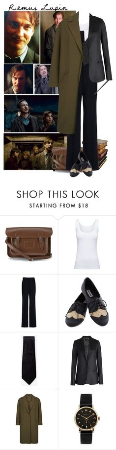 """""""Remus Lupin"""" by kerry6590 ❤ liked on Polyvore featuring The Cambridge Satchel Company, Gump's, Boody, STELLA McCARTNEY, Ultimate, Zadig & Voltaire, Monsoon, Marc by Marc Jacobs and harrypotter"""