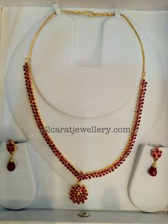 Jewerly Wedding Bracelet Products For 2019 Ruby Necklace Designs, Gold Ruby Necklace, Ruby Jewelry, Bridal Jewelry, India Jewelry, Stone Jewelry, Gold Jewellery, Jewelery, Jewelry Necklaces