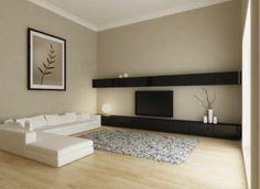 wohnzimmer einrichten ohne wohnwand in schwarz
