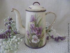 """Чайники, кофейники ручной работы. Ярмарка Мастеров - ручная работа """"Весенняя нежность""""-чайник. Handmade."""
