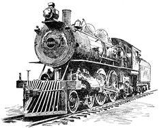 Locomotive Pictures: Locomotive Designed for Passenger Service, 1902