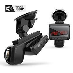 Discover the latest dash cams and accessories available. Find helpful buying guide and great deals on top brands of dashboard cameras. Car Security Camera, Car Camera, Cool New Gadgets, Car Gadgets, Wireless Backup Camera System, Rear View Mirror Camera, Best Noise Cancelling Headphones, Digital Video Recorder, Car Videos