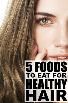 If you're on the hunt for dry hair treatments, want to know how to make your hair grow faster, struggle with thinning hair, or all of the above, you may be surprised at what a difference a few additions to your daily diet can make. Check out 5 of our favorite foods for healthy hair - your locks will thank you!
