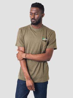 Hemp Pocket T-Shirt Sage