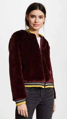 Teen fashion- Barber Donica Bomber Jacket  #winter #Fashion #2018