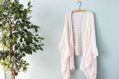 Make a DIY Kimono From a Scarf – Wonder Forest