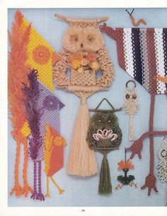 //macrame is for the birds | judy palmer